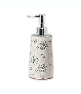Dispensador de jabón de cerámica Isabel color blanco
