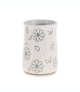 Vaso de cerámica White Glo Isabel color blanco