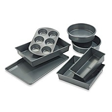 image of Chicago Metallic™ Professional 7-Piece Nonstick Bakeware Set with Armor-Glide