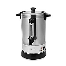image of Nesco® 30-Cup Stainless Steel Double-Wall Insulated Electric Coffee Urn