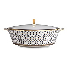 image of Wedgwood® Renaissance Gold Covered Vegetable Bowl