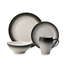 image of Mikasa® Swirl Ombre Dinnerware Collection in Graphite