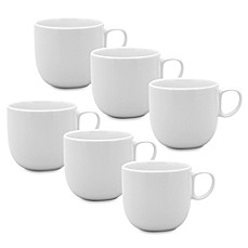 image of Red Vanilla Every Time 12 oz. Mugs (Set of 6)