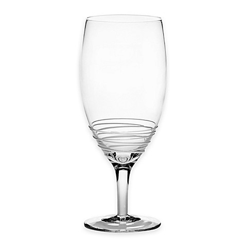 Mikasa® Swirl 22-Ounce Iced Beverage Glass in White