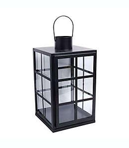 Portavelas Bee & Willow™ para interiores en negro