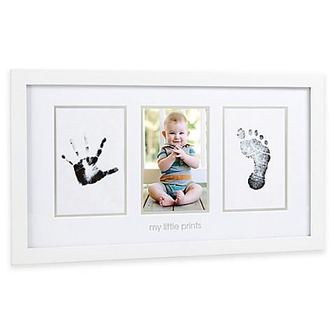 pearhead babyprints my little prints baby photo frame bed bath