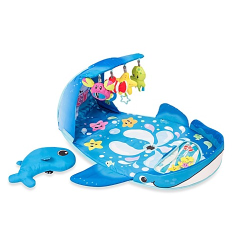 Infantino 174 Wonder Whale Kicks Amp Giggles Activity Gym