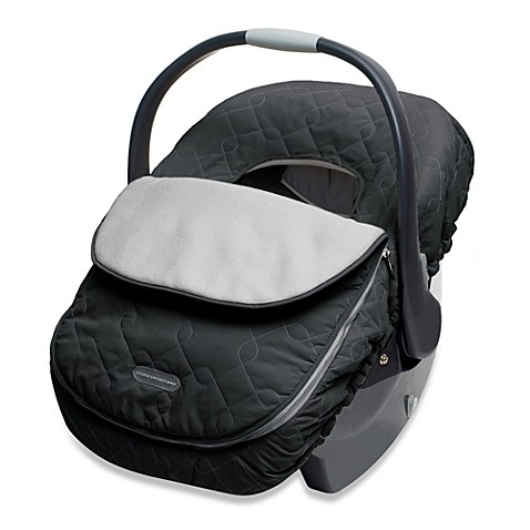 Jj Cole 174 Car Seat Cover In Black Buybuy Baby