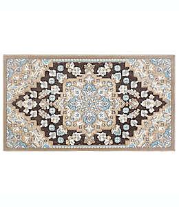 Tapete decorativo de poliéster Home Dynamix Maplewood, 49.78 x 80.01 cm color gris