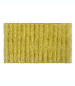 Tapete para baño Bee & Willow™ Home Cable de 53.34 x 86.36 cm en amarillo