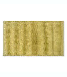 Tapete para baño Bee & Willow™ Home Cable de 53.34 x 86.36 cm en arena