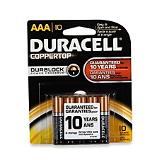 image of Duracell® Coppertop 10-Pack AAA Batteries