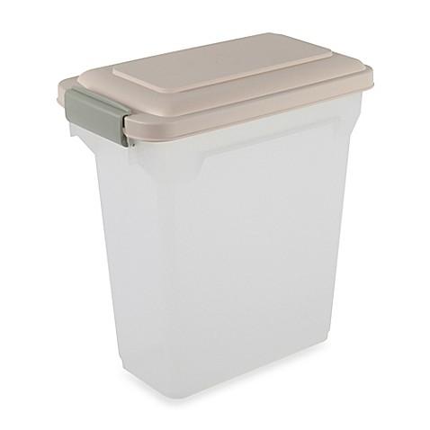Iris 174 15 Qt Airtight Pet Food Container Bed Bath Amp Beyond