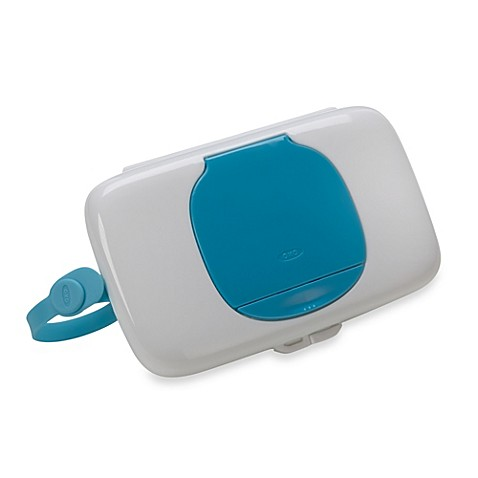 diaper bag accessories oxo tot on the go wipes dispenser in aqua from b. Black Bedroom Furniture Sets. Home Design Ideas
