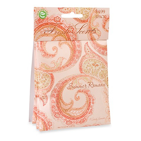 fresh scents™ scent packets in summer romance (set of 3) - bed