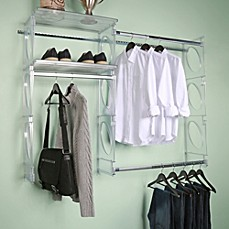 image of kio custom 5foot closet and shelving system