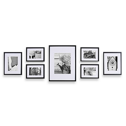 image of gallery perfect 7 piece frame set