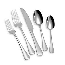 image of Oneida® Caswell 65-Piece Flatware Set