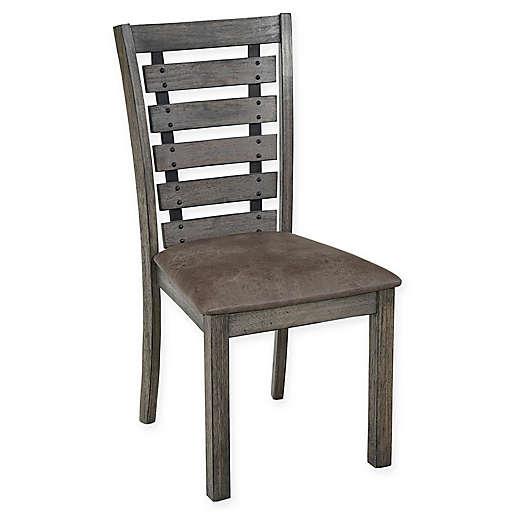 Progressive Furniture Fiji Harbor Dining Chairs In Grye Set Of 2 Bed Bath Beyond