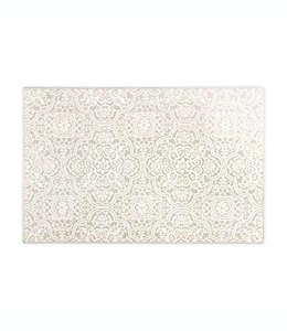 Tapete decorativo de poliéster Home Dynamix Westwood con medallones florales, 50.03 x 80.01 cm color gris pardo
