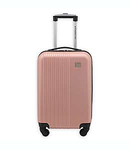 Maleta de mano expandible Travelers Club® Ridgewood con ruedas en oro rosa