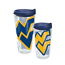 image of Tervis® West Virginia University Mountaineers Wrap Tumbler with Blue Lid