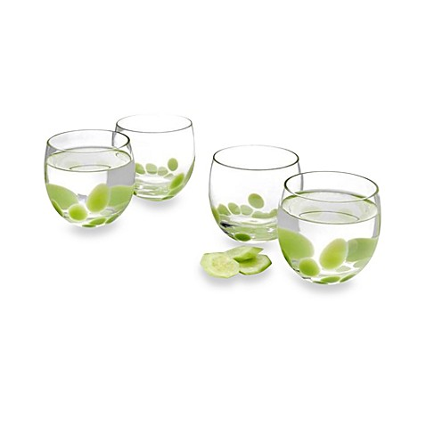 Pasabahce Fresh 12 Oz. Tumblers in Celery (Set of 4)