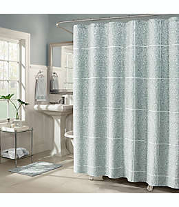 Cortina de baño J. Queen New York™ Corina de 1.82 x 1.82 m en azul spa