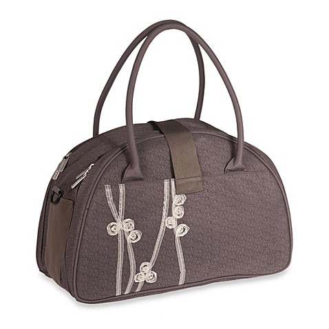 lassig casual shoulder diaper bag in ribbon slate buybuy baby. Black Bedroom Furniture Sets. Home Design Ideas