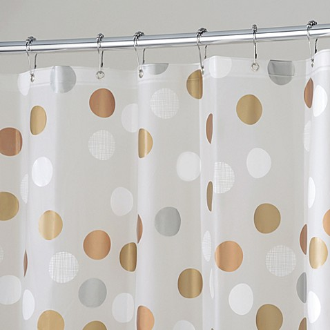 gilly dot 72inch x 72inch shower curtain