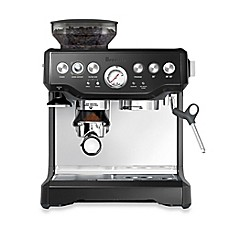 image of breville the barista express espresso machine