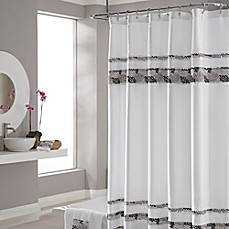 image of Croscill® Deco Bain Tile 72-Inch x 84-Inch Shower Curtain