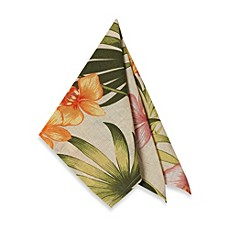 image of Tommy Bahama® Home African Orchid Napkins (Set of 4)