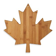 image of Totally Bamboo Canadian Maple Leaf Cutting/Serving Board