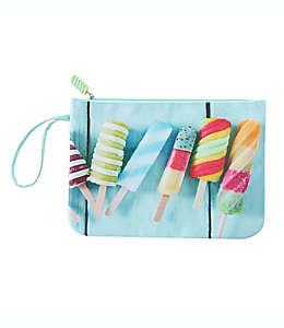 Bolsa para traje de baño de poliéster Morgan Home Rainbow Popsicle