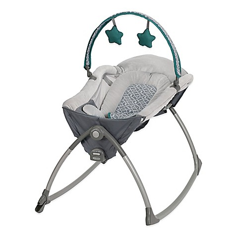 Graco 174 Little Lounger Rocking Vibrating Seat In Ardmore