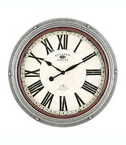 Reloj de pared Vintage numeración en romano Bee & Willow Home™ en grafito
