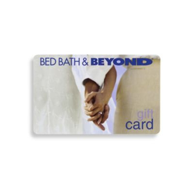 Wedding Gift Ideas Bed Bath Beyond : ... wedding gift card celebrate a wedding by giving a bed bath beyond gift