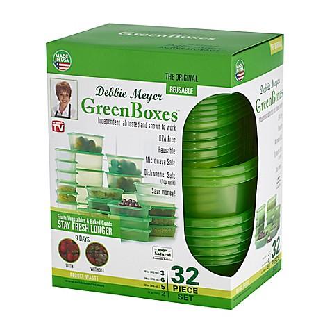 Debbie Meyer 32-Piece Ultra Lite Green Boxes  sc 1 st  Bed Bath u0026 Beyond & Debbie Meyer 32-Piece Ultra Lite Green Boxes - Bed Bath u0026 Beyond Aboutintivar.Com