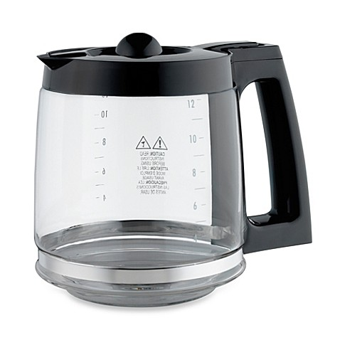 Replacement 12 Cup Coffee Carafe For Hamilton Beach