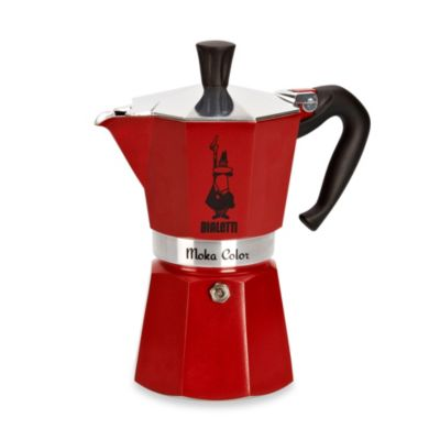 Stovetop Coffee Maker Gift : Buy Bialetti Moka Express Stovetop Espresso 6-Cup Coffee Maker in Bordeaux from Bed Bath & Beyond