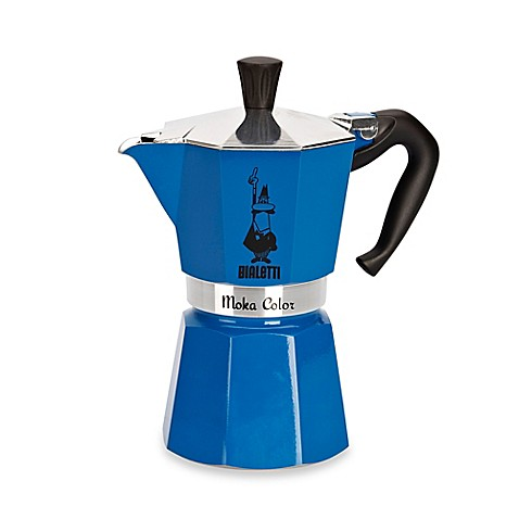 bialetti moka express stovetop espresso 6 cup coffee maker bed bath beyond. Black Bedroom Furniture Sets. Home Design Ideas