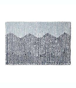 Tapete para baño DKNY Brushstroke degradado, 50.8 x 76.2 cm en índigo