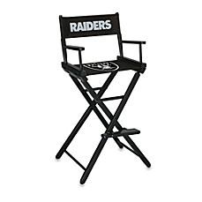 NFL Oakland Raiders Bar Height Directors Chair