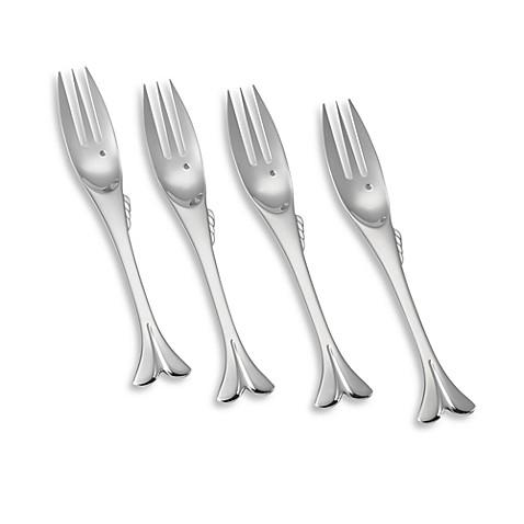 Yamazaki gone fishin 39 small fork set of 4 bed bath beyond - Gone fishin flatware ...