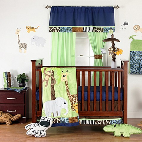 green jungle nursery one grace place jazzie jungle boy crib bedding accessories bed