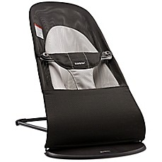 image of BABYBJORN® Bouncer Balance Soft in Black/Grey Mesh