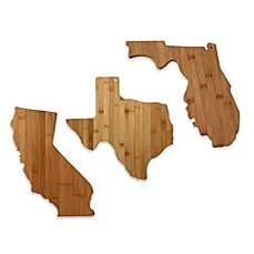 image of Totally Bamboo State Shaped Cutting/Serving Board
