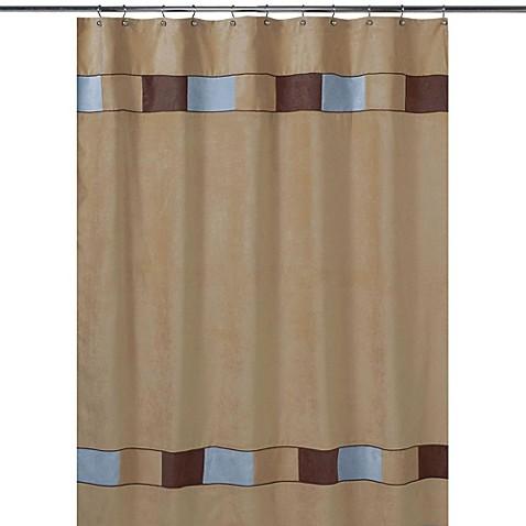 Buy sweet jojo designs soho shower curtain in brown and for Sweet jojo designs bathroom