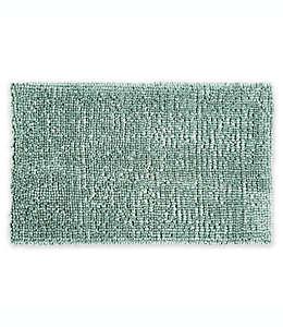Tapete para baño de poliéster Home Dynamix Ultimate Luxury color gris verdoso